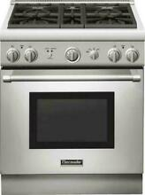 Thermador 30  Pro Harmony Series Gas Range 4 Burners Stainless S   PRG304GH