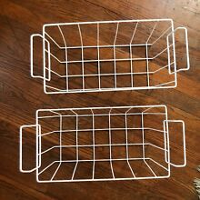 Set of 2 Upper Freezer Basket WR21X10208 Compatible with GE Chest Freezer