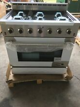 NXR Entree 36 in  5 5 cu  ft  Professional Style Gas Range with Convection Oven