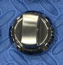 VIKING STAINLESS KNOB  1pc   037416 000 FOR GAS COOKTOP  see pics