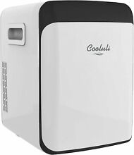 Cooluli Classic 15 Liter Compact Cooler Warmer Mini Fridge