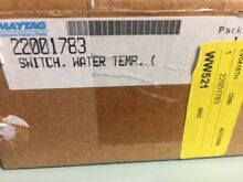 22001783 MAYTAG WATER TEMP SWITCH NEW  NEW  IN OEM BOX AND PACKAGING
