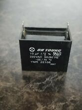 GE General Electric Microwave Oven Capacitor Motor WB27X10170