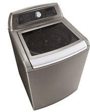 Kenmore Elite 31553 5 2 cu  ft  Top Load Washer with Steam in Metallic Silver