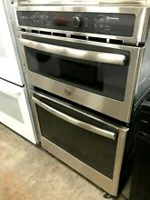 New  PK7800SKS GE Profile 27  Built in Stainless Combination Microwave Wall Oven