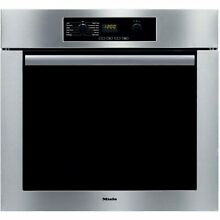 Miele Classic Design H4844BP 30 Single Electric Wall Oven with True European