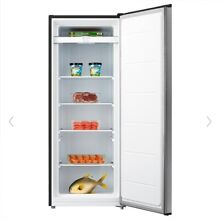 Emerson 7 0 Cu Ft Stainless Steel Upright Freezer Fresh Meat Food Storage NEW