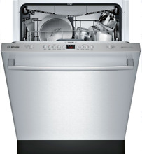 Bosch SHXM4AY55N 100 Series 24  Fully Integrated Dishwasher Stainless Steel