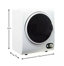 Pick Up Only  Magic Chef MCSDRY15W 1 5 Cubic Ft Home Laundry Dryer Machine