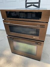 Jenn Air Copper Euro Style 30  Double Combination Convection Oven Microwave