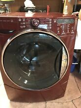 Kenmore Front Load Washer Refurbished Red Model 47789 HE5t Steam King Size Capac