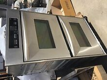 Kitchen Aid 30 Stainless Electric 220 Double Oven With