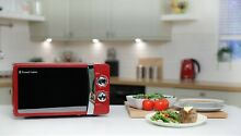 Russell Hobbs 17L Red Manual Microwave 5 Power Levels 700W RHMM701R