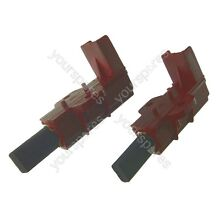 Washing Machine Carbon Brush for Indesco Motors   Pack of 2 Equiv To C00196539