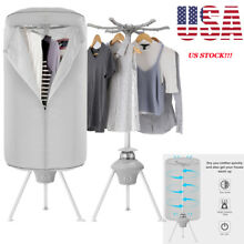 Home Electric Clothes Dryer 1000W Heater Folding Wardrobe Machine Drying Rack US