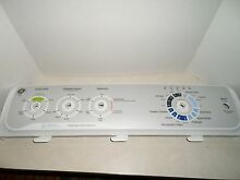 GE Washer Control Panel  Hydro Wave  all tabs good