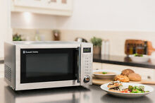 Russell Hobbs 20L 800W Stainless Steel Digital Microwave With Grill RHM2031