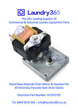 Commercial Washing Machine Drain Valve Motor   Gearbox Electrolux 471972701