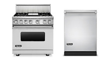 Viking 7 Series 36  Gas Range   FREE Dishwasher   VGR73614GSS