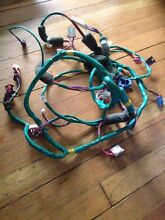 Samsung   Brada Front Load Washer Parts   Complete Wiring Harness