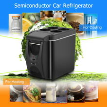 12v Mini Car Freezer Cooler Warmer 6L Electric Fridge Icebox Portable Travel