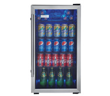 Danby Mini Fridge 120 Can Cooler Refrigerator Coke Soda Portable Compact Dorm