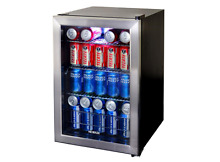 NewAir Mini Fridge Refrigerator  84 Can Cooler  Compact  Dorm  Counter Top  Bar
