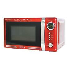 Nostalgia Electrics Retro Series 0 7 Cubic Foot Microwave Oven