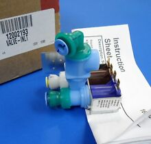 Maytag Kenmore JennAir 12002193 Refrigerator Secondary Water Valve NEW OEM