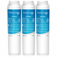 Fits GE GSWF Replacement Refrigerator Water Filter 3 PACK by Waterdrop