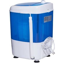 5 5 lbs Portable Mini Semi Auto Washing Machine