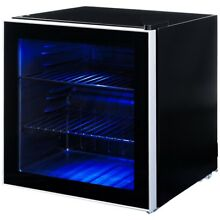 60 Can Beverage Mini Refrigerator w  Glass Door