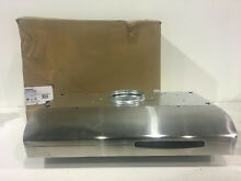 Broan QSE130SS Allure 30 in  Externally Vented Range Hood Stainless Steel  READ