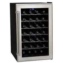 Koldfront TWR282S 18 Inch Wide 28 Bottle Wine Cooler with Thermoelectric Cooling