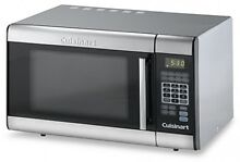 Cuisinart Stainless Steel Microwave Oven LCD Touchpad Control Countertop Display