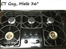 Miele 36  Black GAs Cooktop in Los Angeles