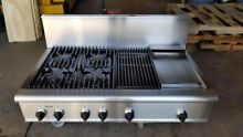 Thermador 48  Pro Stainless Range Top   4  grill n Griddle or  6  in Los Angeles