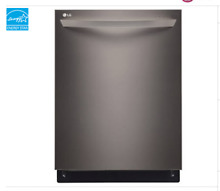 LG LDT9965BD Diamond Collection dishwasher with TrueSteam Black Stainless
