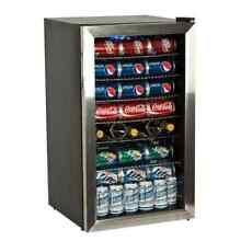 EdgeStar BWC120SS 103 Can and 5 Bottle Extreme Cool Beverage Cooler