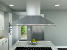 Zephyr Essentials Europa 48  Stainless Island Hood  ZSLE 48BS