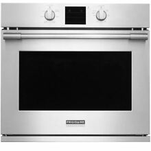 Frigidaire 30  Stainless Steel Single Electric Convection Wall Oven FPEW3077RF