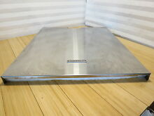 KitchenAid Stainless Steel Dishwasher Door Panel KUDE20IXSS4  W10195535