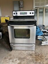 GE Infared Stove with microwave