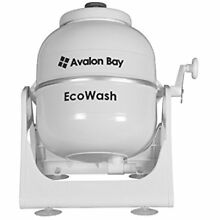 Ecowash Portable Hand Cranked Manual Clothes Non Electric Washing Machine By Top