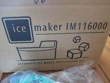 FRIGIDAIRE AND OTHERS ICE MAKER KIT  IM116000