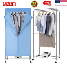 Portable Electric Clothes Dryer RV Drying Rack Wardrobe Machine Remote Control