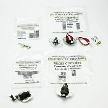 Whirlpool Dryer Thermostat Thermal Fuse Kit 3977767 3392519 3387134 279816