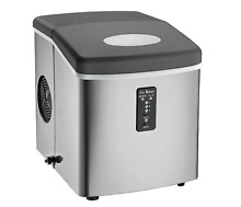 Ice Maker Igloo Machine Portable Stainless Steel Countertop Compact Makes Cubes