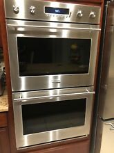GE Monogram ZET2PHSS 30  Double Wall Oven