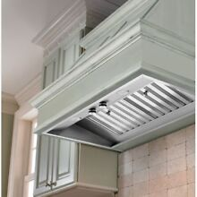 Vent A Hood M34SLD SS 36  Wall Mount Liner Insert with Single or Dual Blower Opt